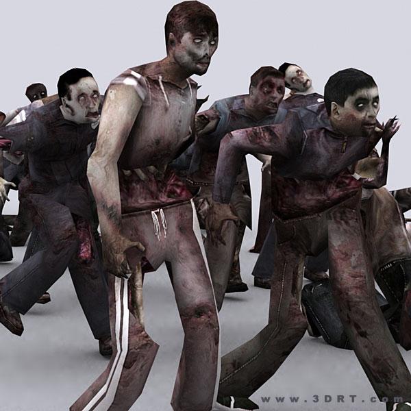 Как сделать зомби в реальной жизни