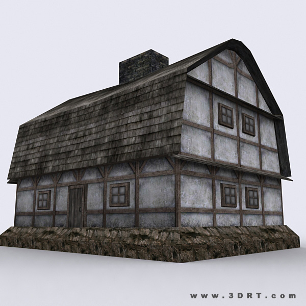 Medieval houses pack for House models for construction
