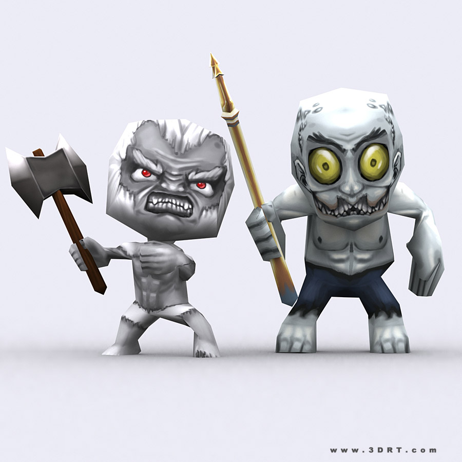 Cartoon Characters Monsters : Characters cartoon chibii monsters
