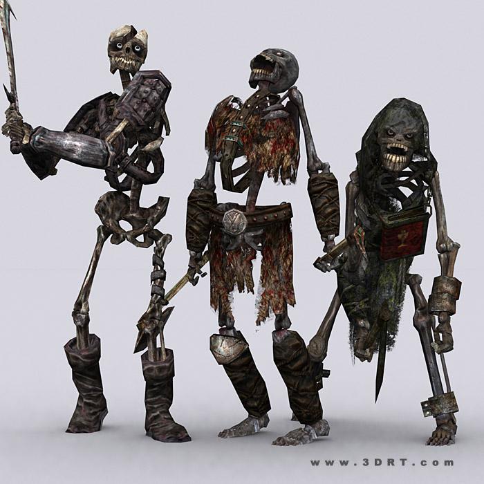 Armored Skeleton Fantasy Art
