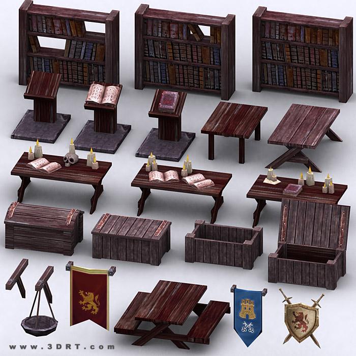 Fantasy Dungeon Master Kit