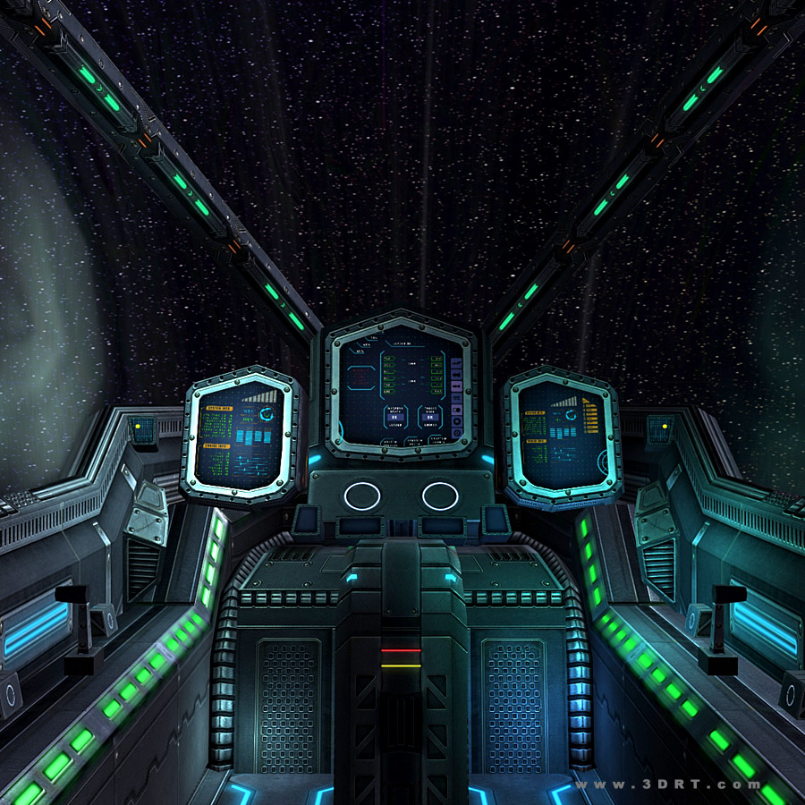 Sci Fi Spaceships Cockpits