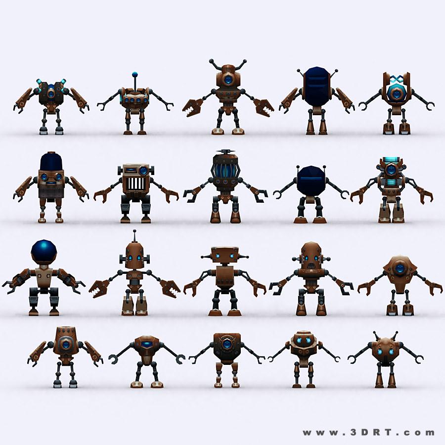 Chibii Robots