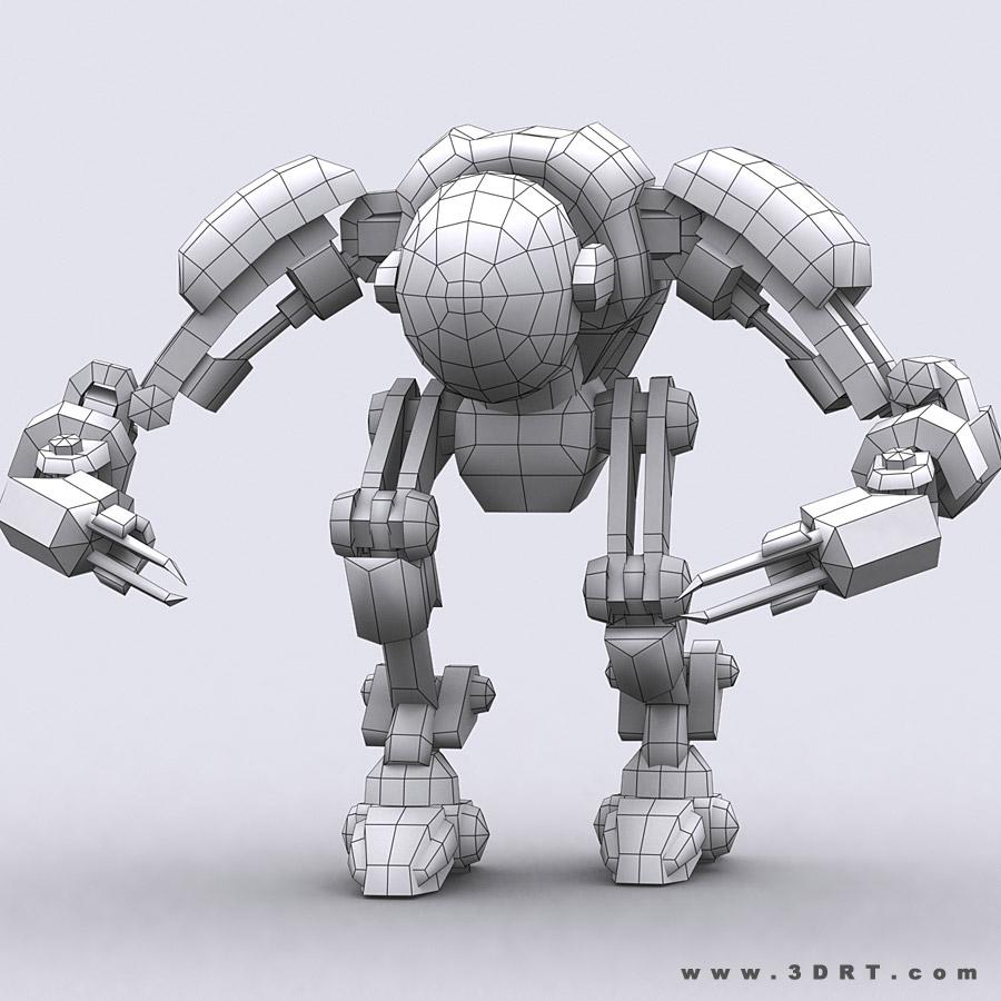 Mech robots engineers