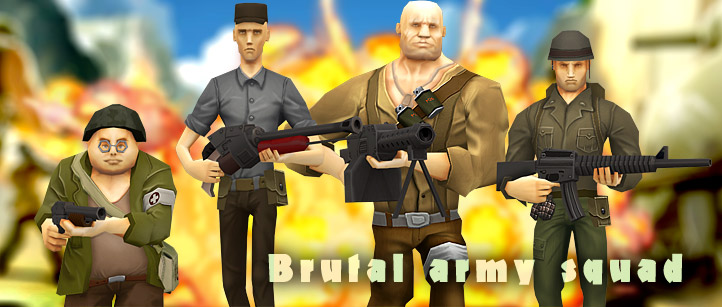 brutal-army-soldiers-toon-heroes-3d-char