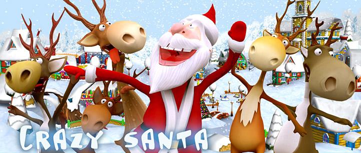 crazy-santa-raindeers-3d-animated-lowpol