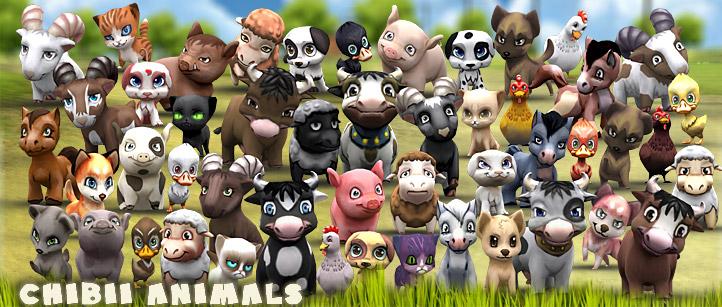Chibii animals