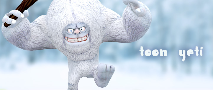 toon-yeti-monster-3d-animated-lowpoly-ca