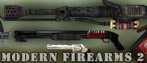 modern firearms animated 3d weapons pack, flame thrower, shotgun, magnum, rpg, minigun
