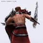fanrasy warrior 3d model character