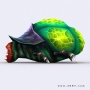 insectoids 3d monsters aliens lowpoly