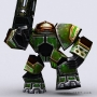 warbots micromarines 3d lowpoly characters