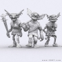Characters :: Fantasy characters :: Goblins undead modular kit
