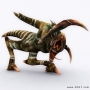 sci-fi alien monster 3d character